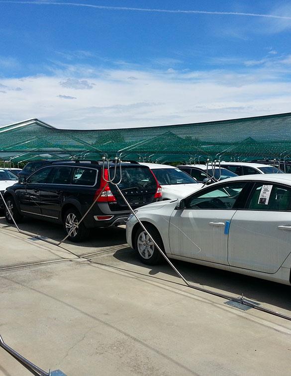 protezione antigrandine per auto