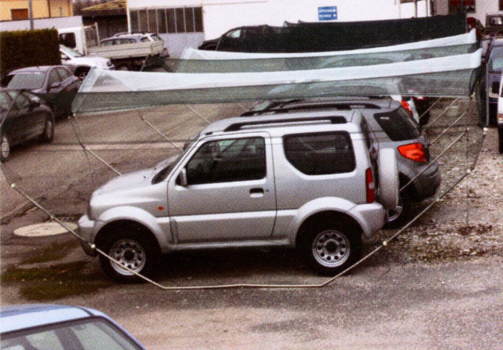 rete antigrandine modulare protezione auto icestopper